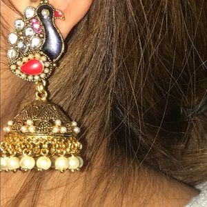 Bollywood earring